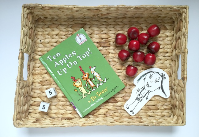 ten apples up on top math game for kids