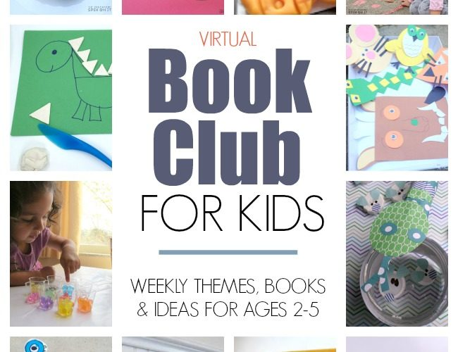 Virtual Book Club for Kids Activity Ideas Roundup