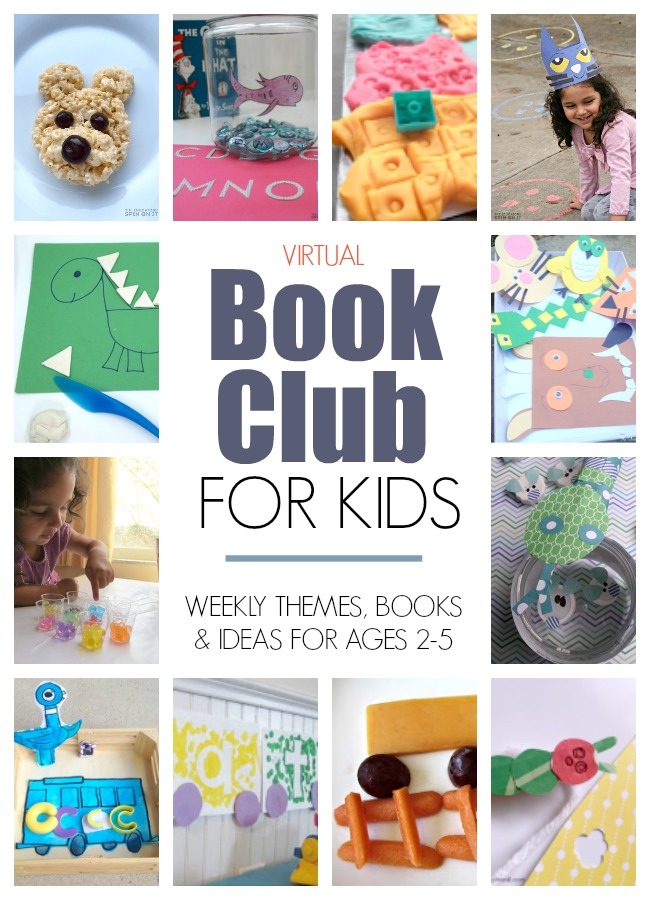 Weekly Virtual Book Club for Kids