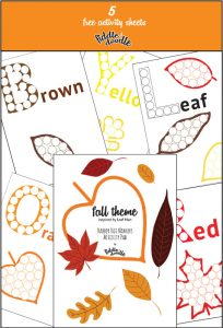 Fall Leaves Dot Marker Printables