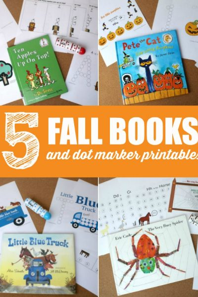5 Must Read Fall Books and Fall Dot Marker Printables