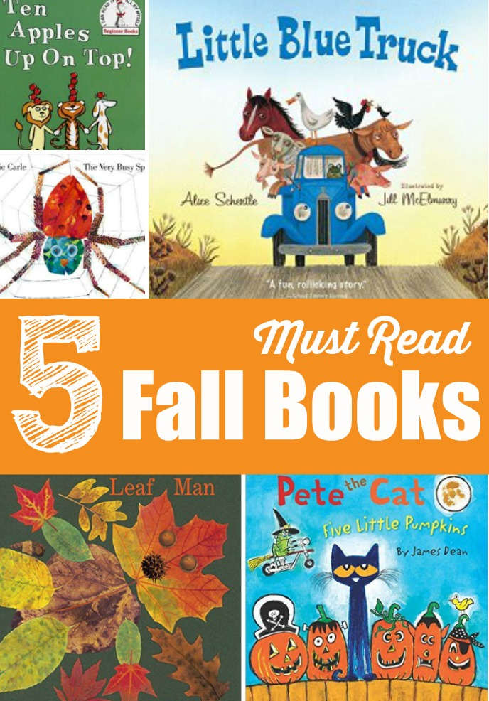 5 Must Read Fall Books for Kids