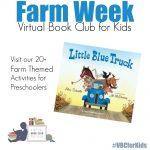 Little Blue Truck Themed Activities for Kids