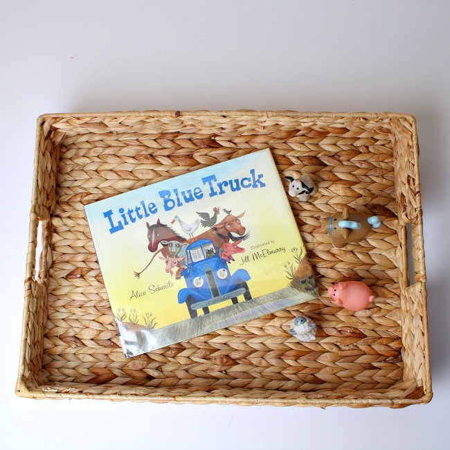Little Blue Truck Boo of the Week Featured Activities