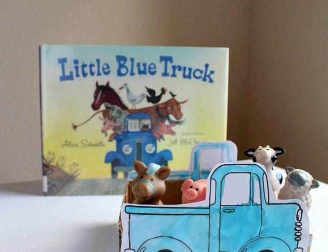 Little Blue Truck Creative Play Idea and Craft