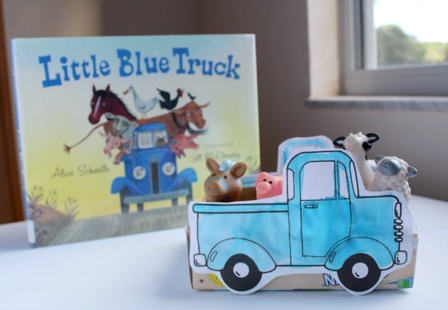 Little Blue Truck Pretend Play Craft Idea for Kids