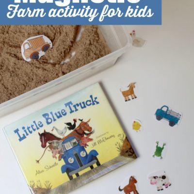 Little Blue Truck Magnetic Farm Activity for Kids