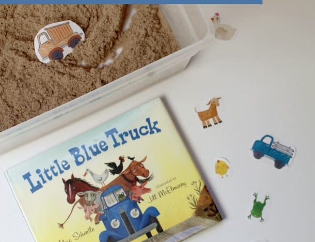 Magnetic Farm Activity to go along with the book Little Blue Truck
