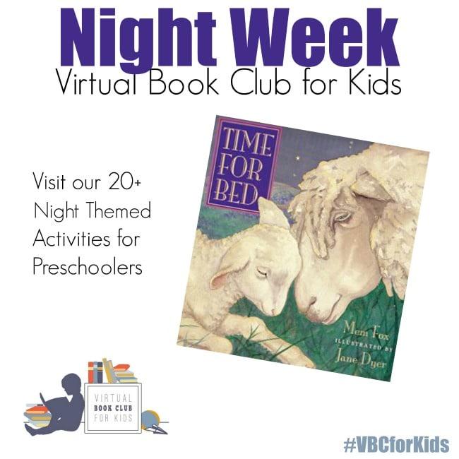 Night Theme Virtual Book Club for Kids