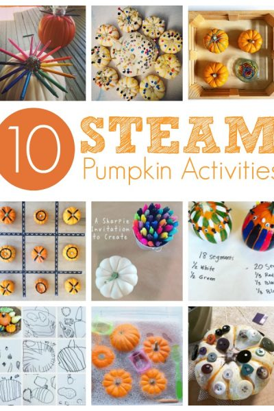 STEAM Pumpkin Activities for Kids