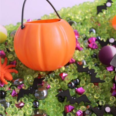 Halloween Sensory Bin for Kids