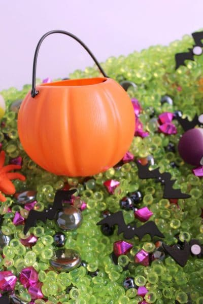 Halloween Sensory Bin for Kids