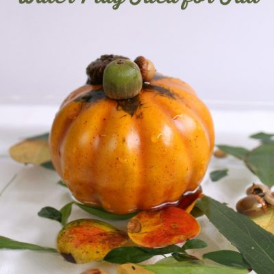 Fall Sensory Play with Pumpkins and Water