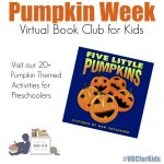 Pumpkin Week at the Virtual Book Club for Kids