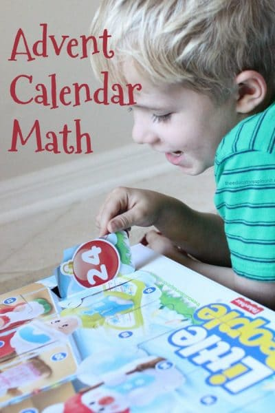 Learn Math with Holiday Advent Calendars