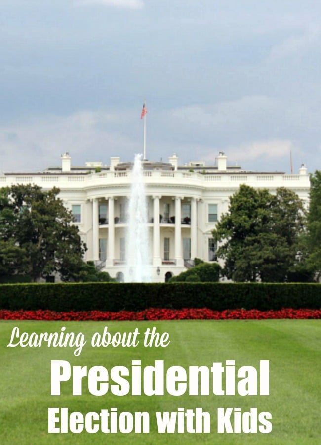 Learning about the Presidential Election with Kids