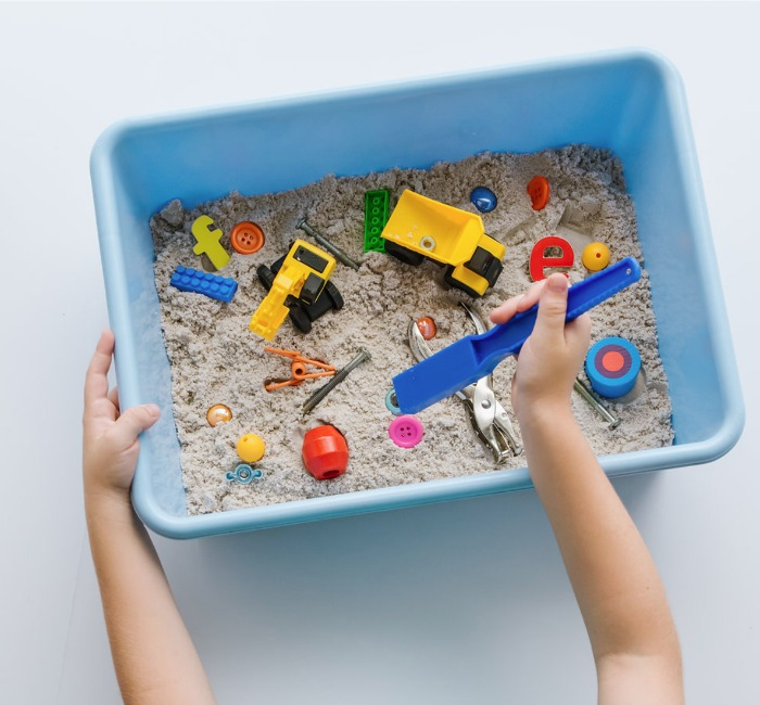 Magnetic Construction Activity for Kids