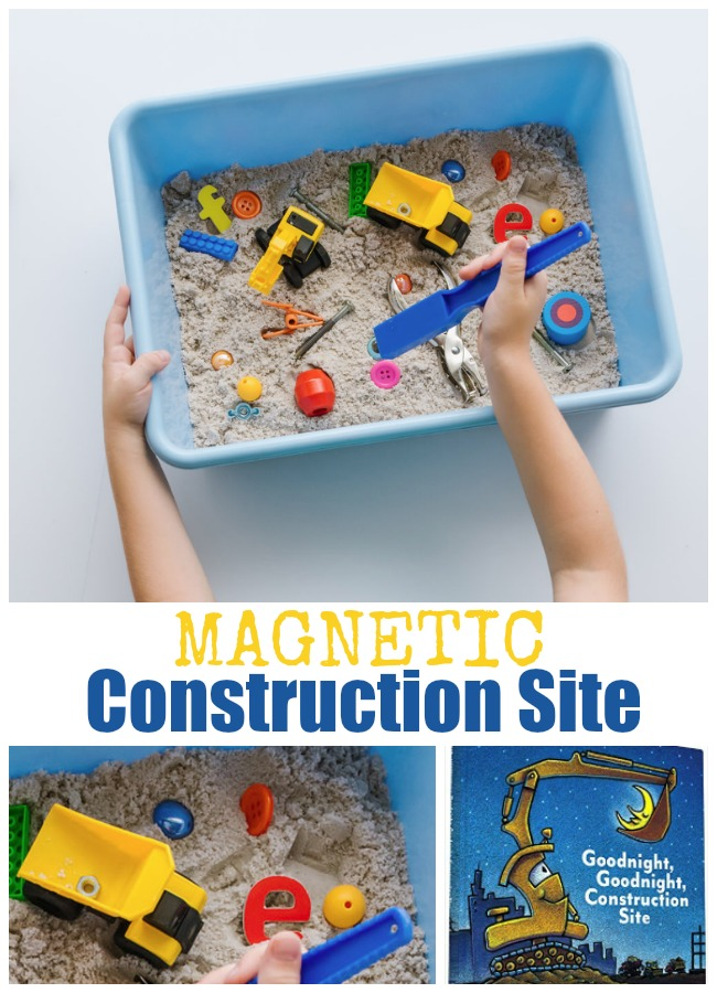 construction activities for preschoolers how to make a magnetic construction site for to explore 318
