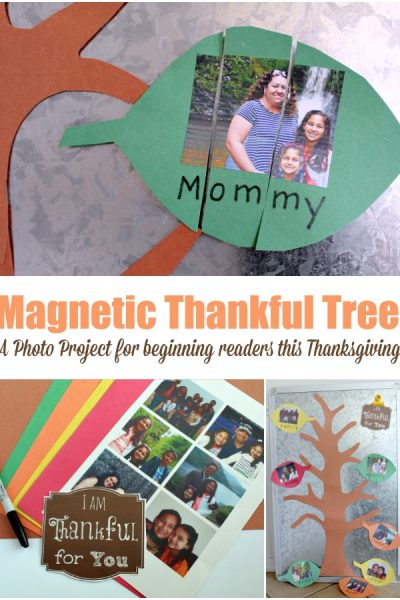 How to Make a Magnetic Thankful Tree With Your Child