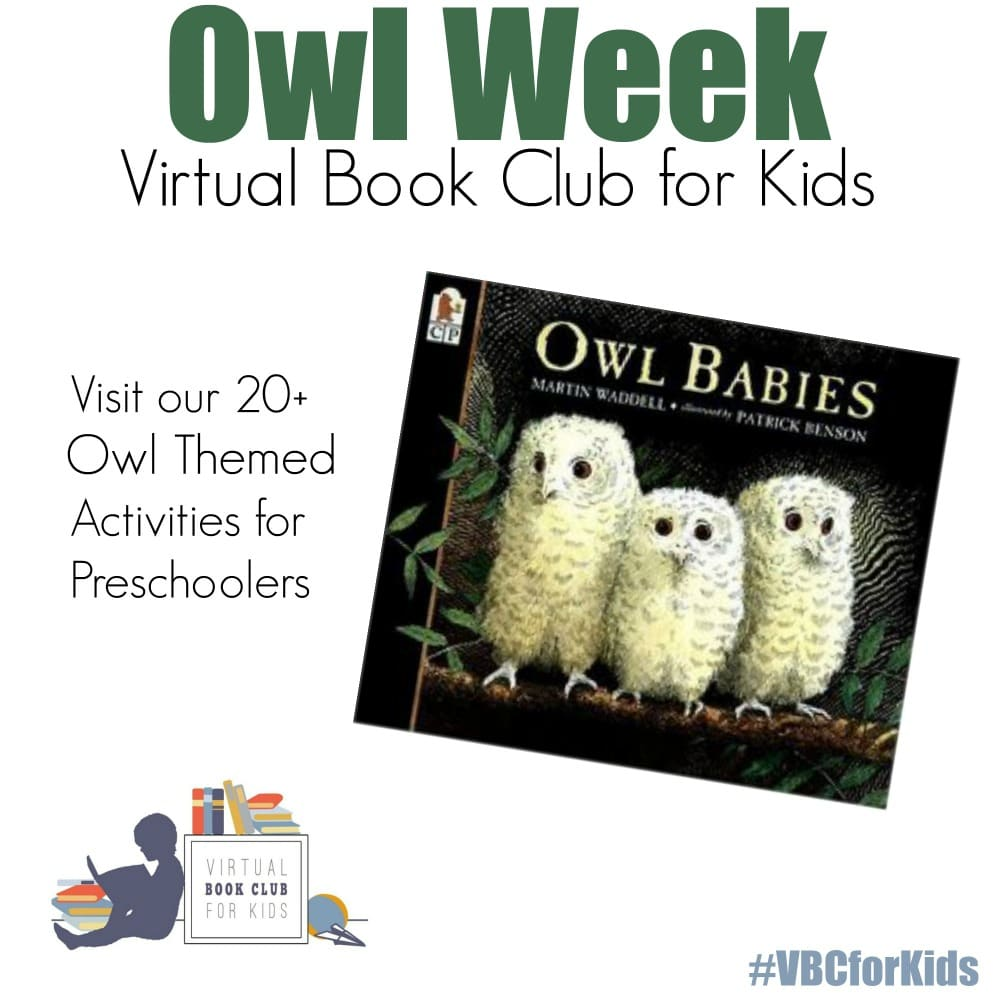 Owl Week Activities for Preschoolers