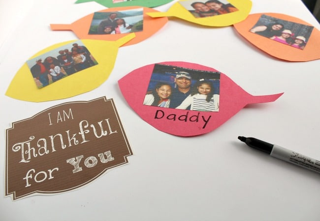 Thankful Tree Leaves for Beginning Readers