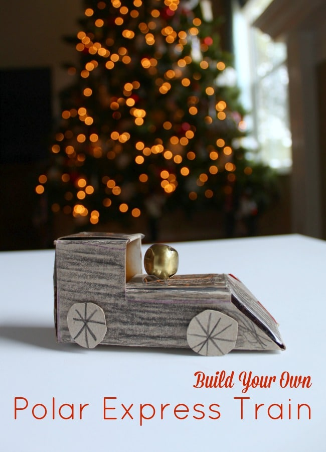 Building a Moving Polar Express Train Ride with Preschoolers