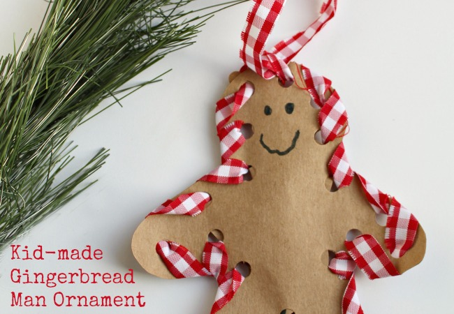 How to Make a Hand Sewn Gingerbread Man