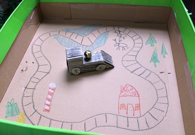 Polar Express Train Ride Activity for Preschoolers