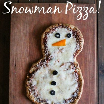 Snowman Pizza Recipe