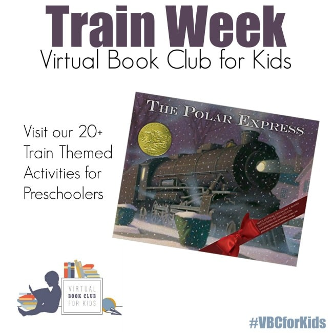 Train Themed Activities inspired by the Book Polar Express