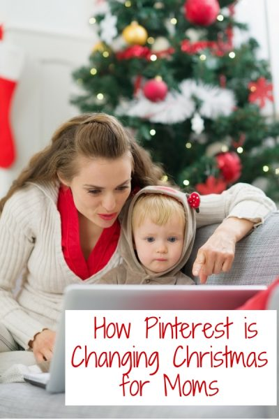 How Pinterest is Changing Christmas for Moms
