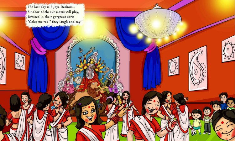Celebrate Durga Puja with Me by Shoumi Sen