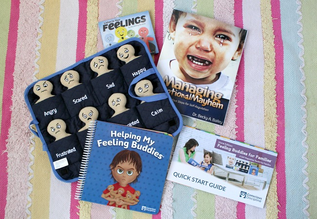 Feeling Buddies for Families Toolkit from Conscious Discipline. A creative way to teach your child about self regulation and emotional control