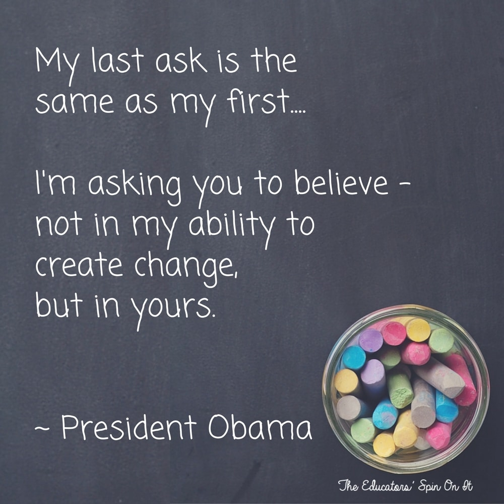 Quote from President Obama