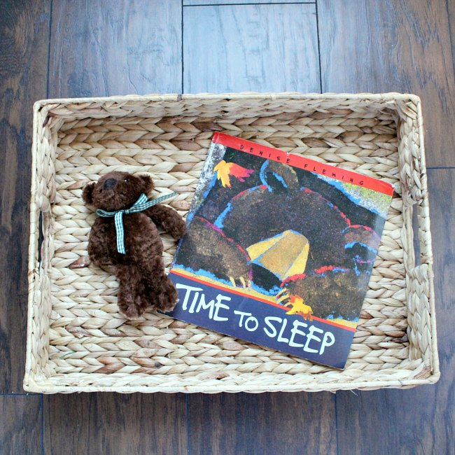Time to Sleep Bear Themed Activity for Kids