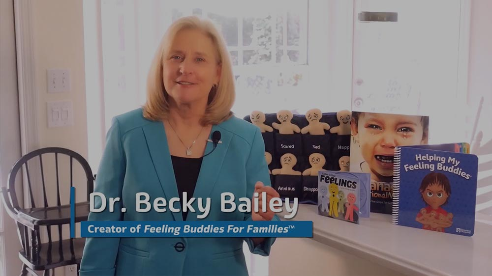 Watch the videos of Dr. Becky Bailey founder of Feeling Buddies for Families
