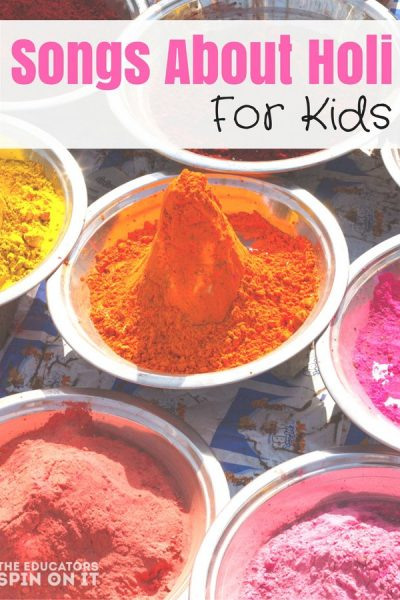 Songs About Holi for Kids to Celebrate
