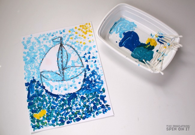Toy Boat Art Project for Kids