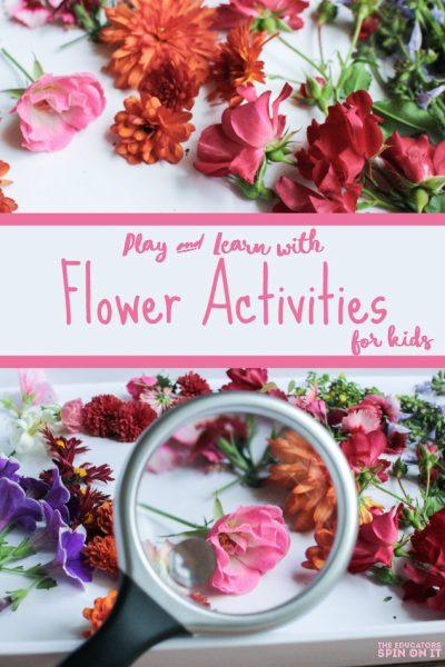 Simple Flower Activities for Kids
