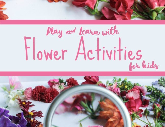 Simple Flower Activities for Kids