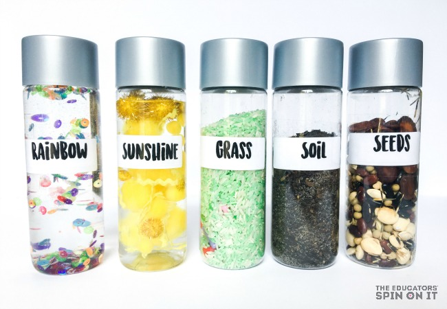 Summer Sensory Bottles for Kids