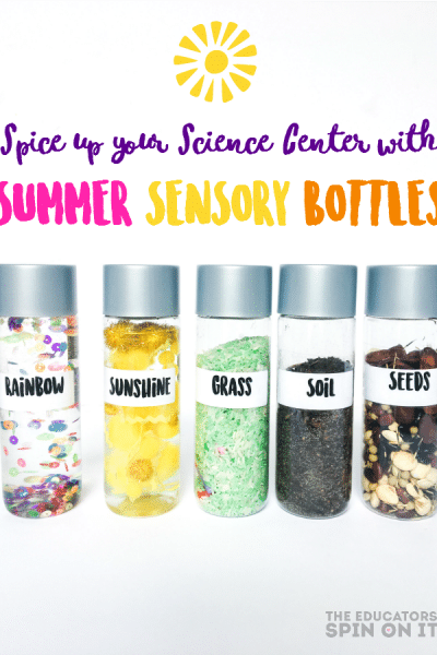 Reignite Children's Interest in Science with FUN Summer Sensory Bottles for Kids