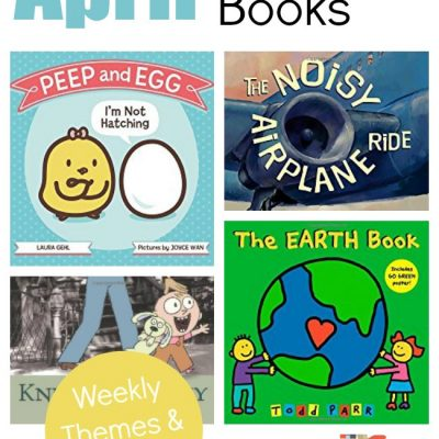 April Book List for the Virtual Book Club for Kids