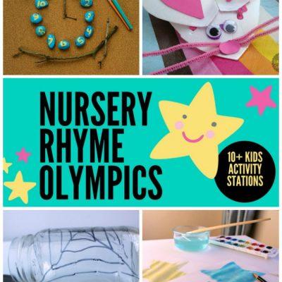 How to Host Your Own Nursery Rhyme Olympics