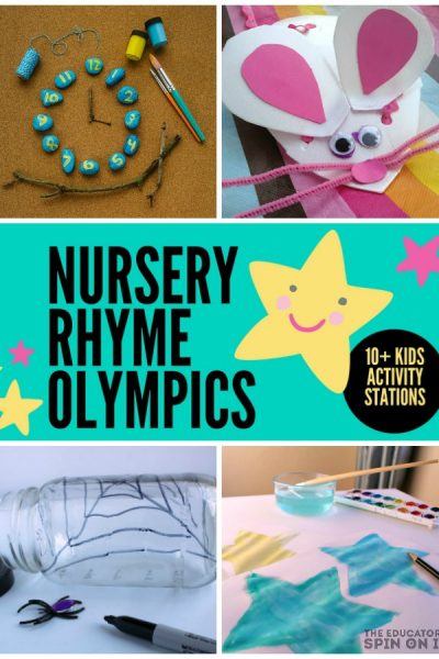 How to Host Your Own Nursery Rhyme Olympics