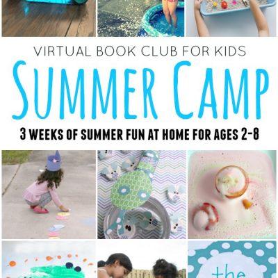 Virtual Book Club for Kids Summer Camp 2017