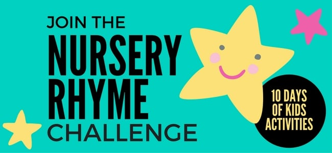 Join the Nursery Rhyme 10 Day Challenge with your child or class!