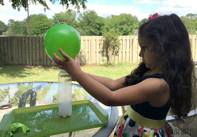 Balloon Butterfly STEM Experiment for Kids