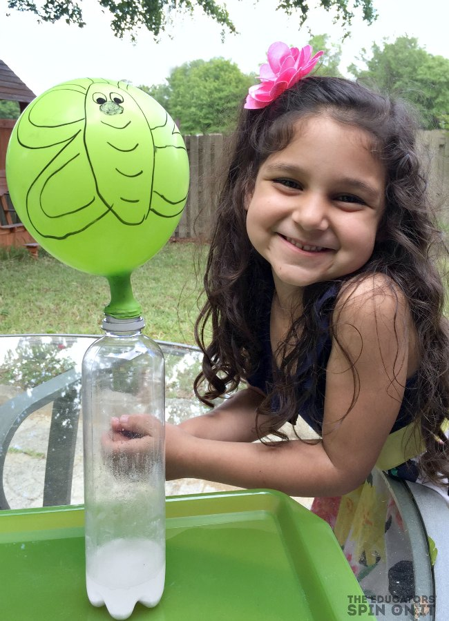 Butterfly Science with Balloon Experiment