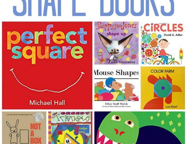 12 Shape Books for Preschool
